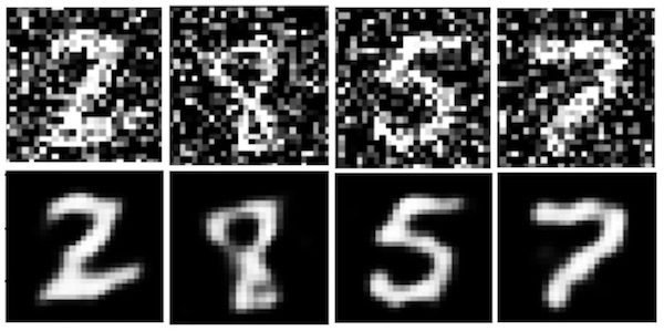 Denoising Autoencoder Deep Learning
