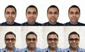 Facial Reconstruction using Eigen Faces