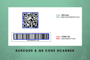 Barcode and QR code Scanner using ZBar and OpenCV