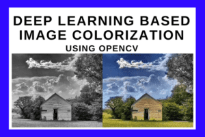 Deep Learning based Image Colorization using OpenCV