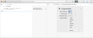 Increasing max-iterations for training in xcode