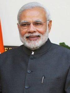 Example image for Gender and Age Classification using OpenCV Deep Learning – India PM Modi.