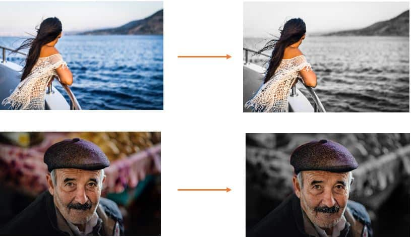 Background Saturation Example one using Semantic Segmentation with Deep Lab v3