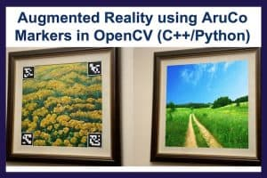 Augmented reality with ArUco markers in OpenCV