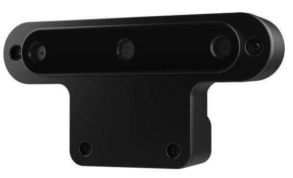 Image showing the OpenCV AI KIT (OAK-D) camera with depth capability.